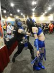 Phoenix Comicon 2015 Subzero FINISH HER! by Demon-Lord-Cosplay