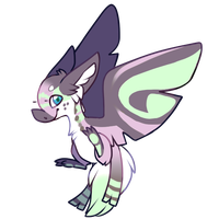 Quick Mothbat Auction (CLOSED) by bananamantis