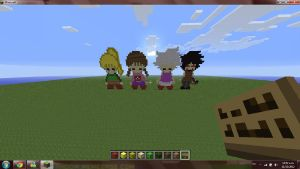 Yume nikki and .flow: Minecraft by Red-eyesbeastCACE08