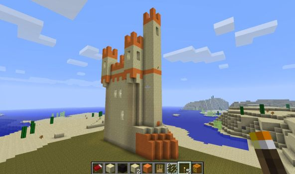 Minecraft Maeuseturm by MustageIce