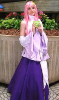 Lacus Cosplay by TheSnowDrifter