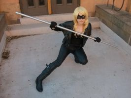 Black Canary Arrow by FemaleFlash