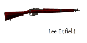 Lee Enfield Bolt Action Rifle by pete7868