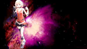 ONE-Aria On The Planetes [Wallpaper] by Pokeloid1