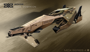 MOXOM - Race Dominion | MOX Series 4 by IllOO