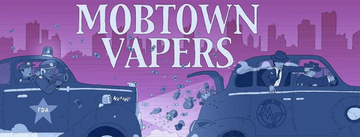 Mobtown Vapers Facebook Chase Design by EzJedi