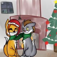 [Guy and Gary] Christmas Contest Entry by iGingie