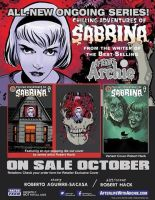 Sabrina #1 in shops tomorrow by RobertHack
