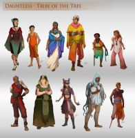 Dauntless - Tribe of the Tree by LiberLibelula