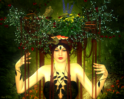 Lady of the Woods by RachealMarie