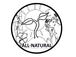 All Natural Logo by FehFeh13