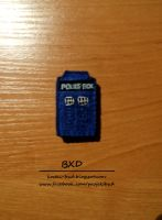 Doctor Who - TARDIS - felt badge by nezstorm