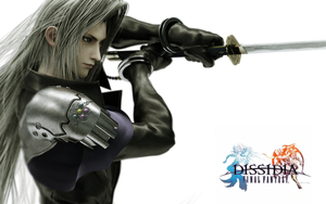 DFF Wallpaper - SEPHIROTH by Leviathan-Dirge