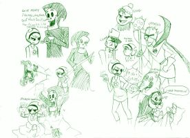 green is da color of ma sketch by kerenitychan