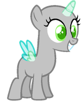 Excited Filly --BASE-- by iVuiAdopts