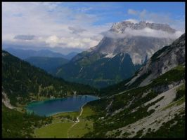 Valey in Alps 1 by mutrus