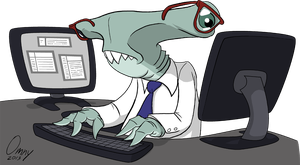 Office Sharks 03 by Omny87
