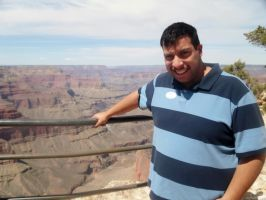 Me at Grand Canyon by TheWizardofOzzy