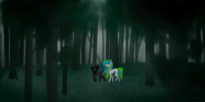 [CE] Quite Beautiful Isn't It? (+SPEEDPAINT) by 1MidnightRiver1