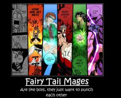 Fairy Tail Motivational by Twilitdragoneye