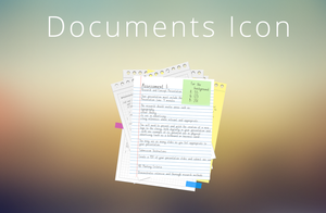 Documents Icon by orangeapple89