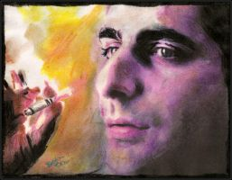 Christopher Moltisanti by breadzilla