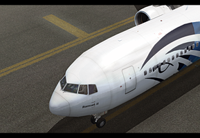 egyptair 767 by angelswake-tf