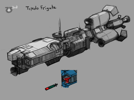 Somtaaw Torpedo Frigate by Norsehound