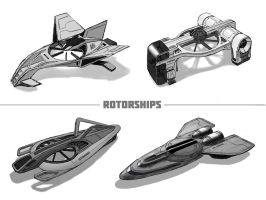 Rotorships by digital-passion-com