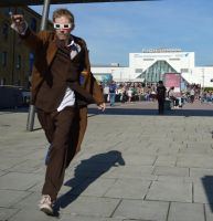 'Onwards and Upwards!' 10th Doctor (London ExCel) by TimeLord1991