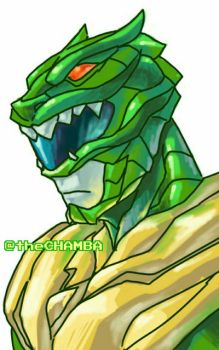 002 - Green Ranger by theCHAMBA