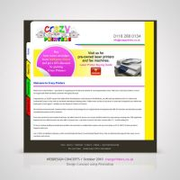 Webdesign for Crazy Printers by Amita-Gandhi