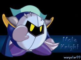 Meta Knight .: Camera Shy by warpstar99