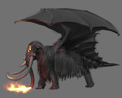 Its either a Magon or a Dramoth by CircuitDruid