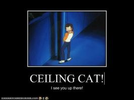 The 4th wall is no bar to: ceiling cat! by Veng1saur
