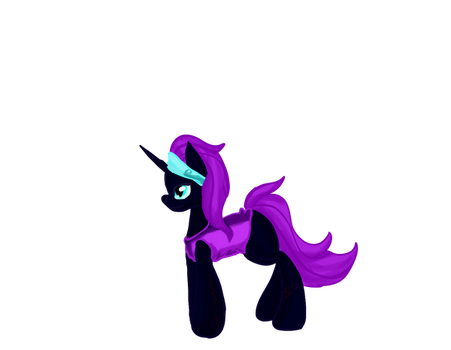 mlp Nyx by shadowwolffox