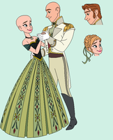 KB: Anna and Hans Dance base by Raygirlbases