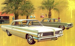 After the age of chrome and fins: 1962 Pontiac by Peterhoff3