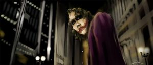 The Last Laugh-H.Ledger Joker by Dantooine