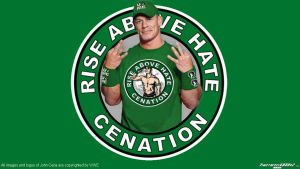 WWE John Cena Green Widescreen Wallpaper by Timetravel6000v2
