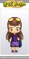 Me Chibi style by GolfingQueen