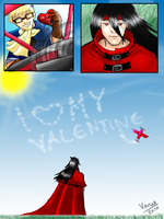 Cid loves his Valentine by ABNORMAL2110