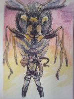 Bee (Wasp) Shifter Liz by Portmanteal