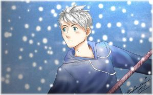 Winter prince - Jack Frost rotg by Nami-chwann