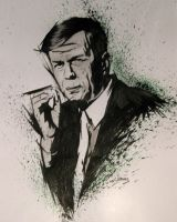 William B. Davis, X-Files by jasonbeam