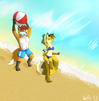 What do you say if we leave for California by RikuBlindFox