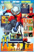Hero Profile Ant-Man by bennyfuentes
