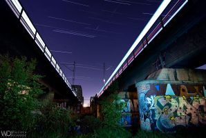 The Railway Bridges by WojciechDziadosz