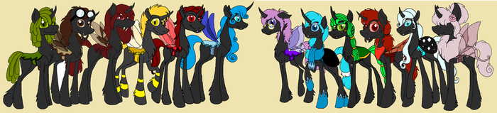 Obsidan Heirs by rosefang16