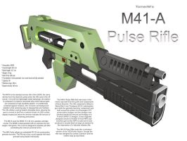 M41-A Pulse Rifle by TomerM